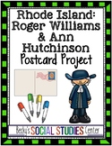 Rhode Island Colony - Roger Williams & Ann Hutchinson: Postcard Project