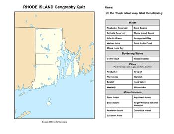 Rhode Island Geography Quiz