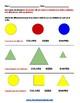 Grade 1  - Rhode Island  - Geometric Shapes - Common Core