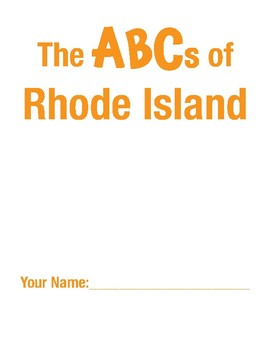 Rhode Island Handwriting Printables - Print Edition