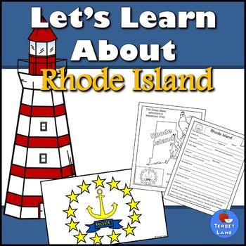 Rhode Island History and Symbols Unit Study