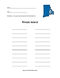 Rhode Island - How Many Words Can You Make?