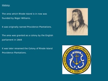 Rhode Island Independence Day - Power Point - Information History Facts Pictures