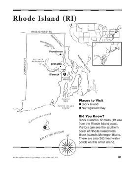 Rhode Island (Map & Facts)