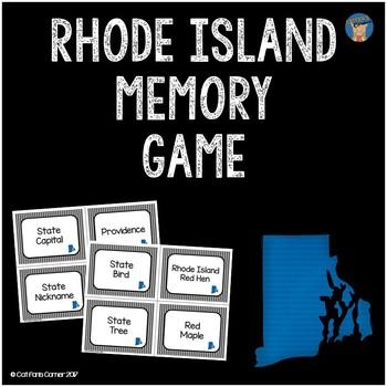 Rhode Island Memory Game