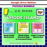 Rhode Island Puzzle BUNDLE - Word Search & Crossword - U.S. States - Google