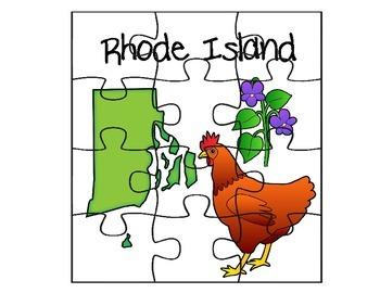 Rhode Island Puzzle Set