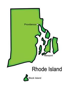 Rhode Island Word Search