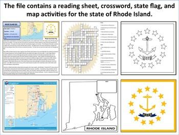 Rhode Island - State Activity Set