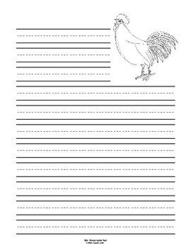 Rhode Island State Bird Notebooking Set (Rhode Island Red)