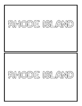 Rhode Island State Book