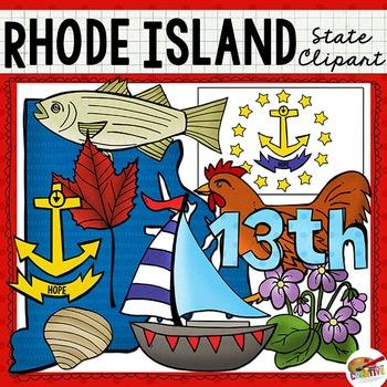 Rhode Island State Clip Art