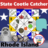 Rhode Island State Facts and Symbols Cootie Catcher Distan