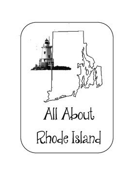 Rhode Island State Lapbook. Interactive Notebook. US History and Geography