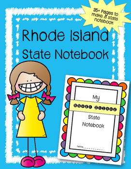 Rhode Island State Notebook. US History and Geography