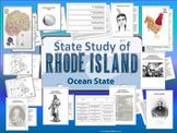 Rhode Island State Study, Interactive Notebook, Bulletin Board Display