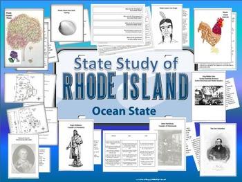 Rhode Island State Study, Interactive Notebook, Bulletin B