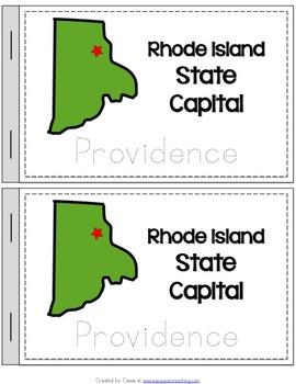 Rhode Island State Symbols Notebook