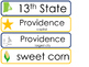 Rhode Island State Word Wall Bulletin Board Set. Geography