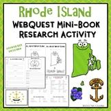 Rhode Island Webquest Common Core Research Mini Book