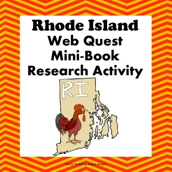 Rhode Island Webquest Common Core Research Mini Book