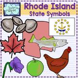 Rhode Island state symbols clipart