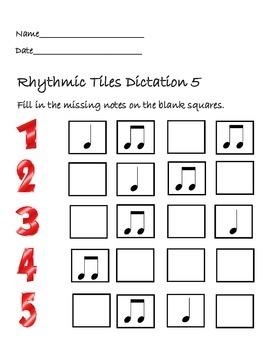 Rhyhtmic Tiles 5