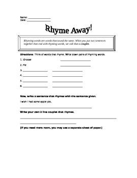 Rhyme Away!