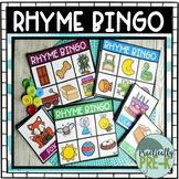 Rhyming Bingo (Beginner & Advanced Sets)