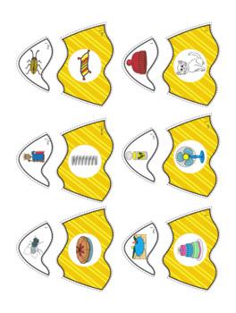 Rhyme - Candy Corn File Folder Rhyme Match