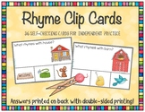 Rhyme Clip Card Bundle