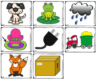 Rhyming Picture Sets for Matching Games