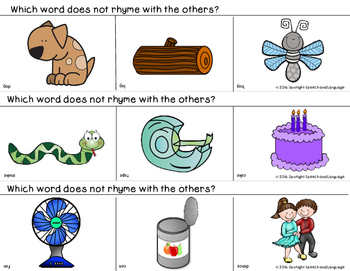 Which Word Does Not Rhyme With the Others?