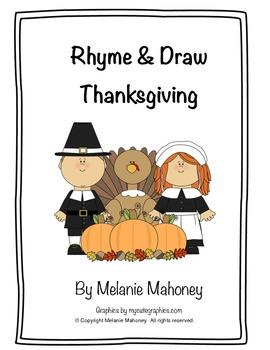 Rhyme & Draw Thanksgiving