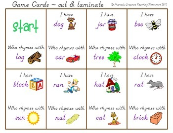 Rhyme Games & Activities