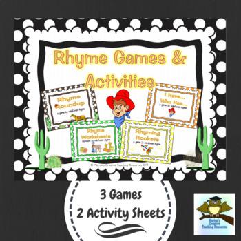 Rhyme Games & Activities