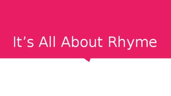 Rhyme Identification