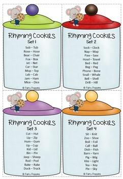 Rhyme Identification Cookies