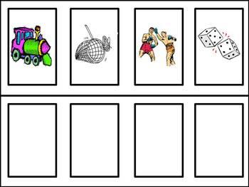 Rhyme Match Up - an activity to build Phonemic Awareness