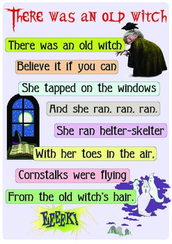 """Rhyme """"Old witch"""""""