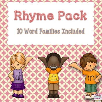 Rhyme Pack - 10 Word Families Included