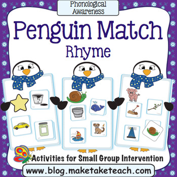 Rhyme - Penguin Match