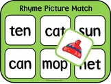Rhyme Picture Match Game