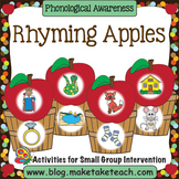Rhyme - Rhyming Apples