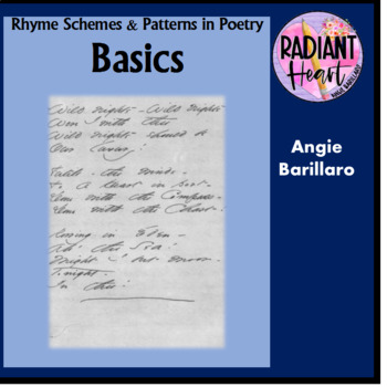 Rhyme Schemes and Patterns in Poetry Basics Radiant Heart Publishing