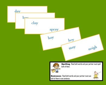 Rhyme, Spell and make a Sentence