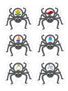 Rhyme - Spider Themed File Folder Activity