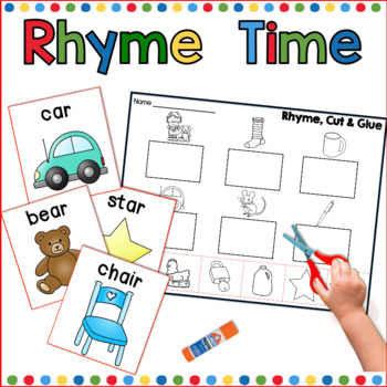 Rhyming Activities & Worksheets | Teachers Pay Teachers