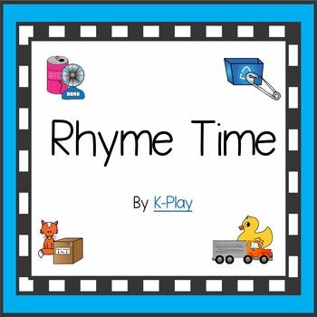 Phonics Rhyming Word Families Games