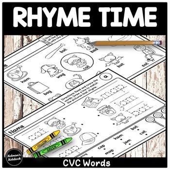 CVC Word Rhymes